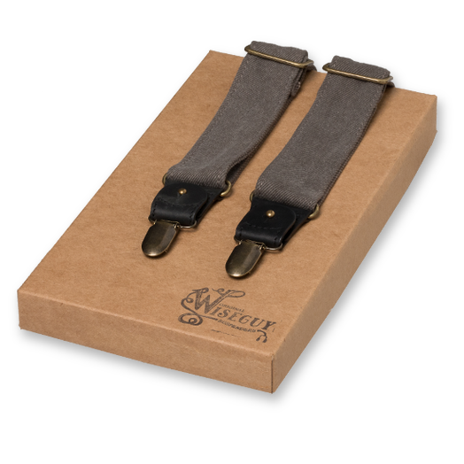Wiseguy Suspenders - The Duck Canvas - Grau (1)