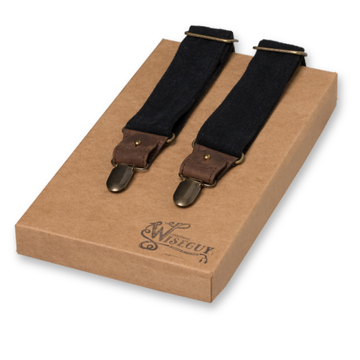Wiseguy Suspenders - The Duck - Schwarz (1)