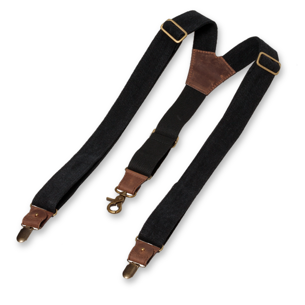 Wiseguy Suspenders - The Duck - Schwarz (2)